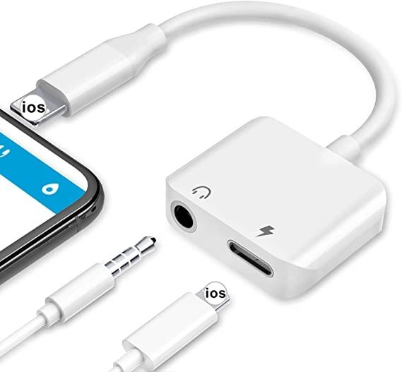 iPhone 2 in 1 Headphone & Charger for Apple iPhone 7 8 X XR 11