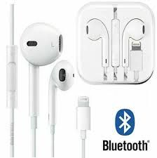Wired Bluetooth Earphones Headphones iPhone 8 7 Plus X XR XS 6SE 5S 11 Pro Max