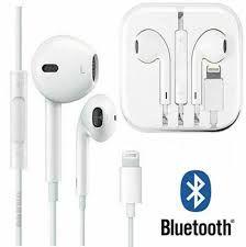 Wired Bluetooth Earphones Headphones iPhone 8 7 Plus X XR XS 6SE 5S 11 Pro Max
