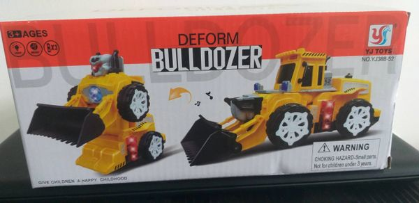 Transformer - Deform Bulldozer (Remote Control)