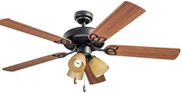 """Windy 52"""" Decorative Ceiling Fan"""