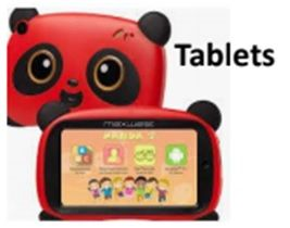 Panda Educational Kids Tablets