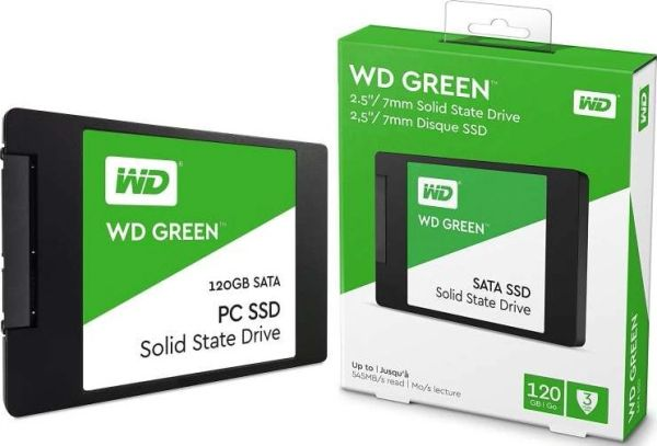 WD Green SSD WDS120G2G0A - Solid state drive - 120 GB