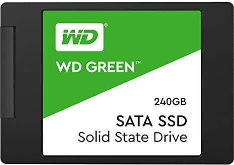 WD Green SSD WDS240G2G0A - Solid state drive - 240 GB
