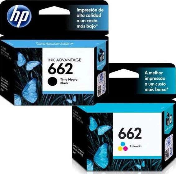 HP 662 Cartridges (Black or Color