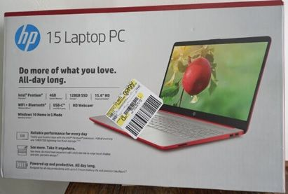 HP 15 Laptop PC (Get it with Windows 11, Microsoft Office 2019 Professional Plus, 5 years Antivirus Protection)