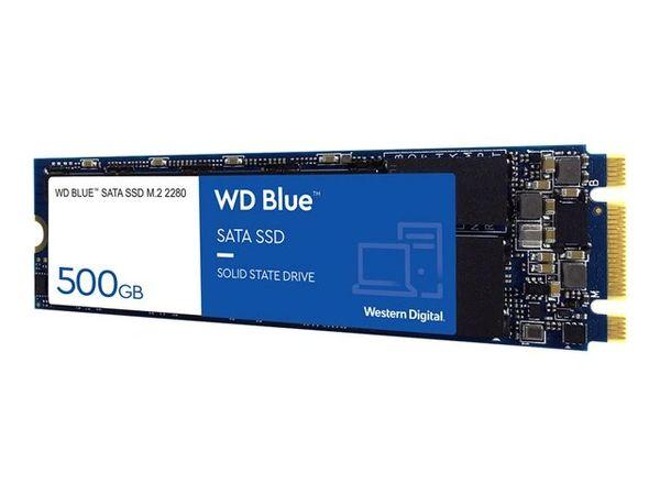 WD Blue 3D NAND SATA SSD WDS500G2B0B - Solid state drive - 500 GB