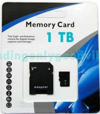 Universal SD Card - 1 Terabytes (TB)