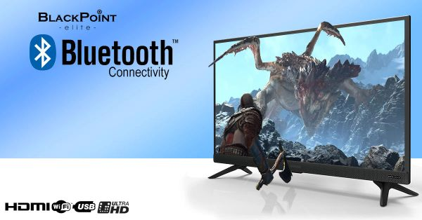 """50"""" blackpoint LED Smart Android TV with built-in Blutooth & Wifi 4K"""