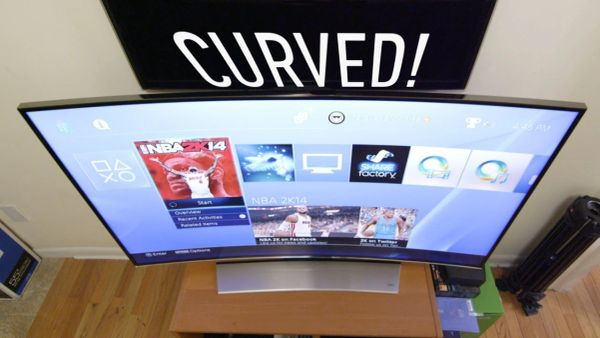 """43"""" BlackPoint Curved Smart ultra HD Television Blackpoint BP46-8GB-CUR"""