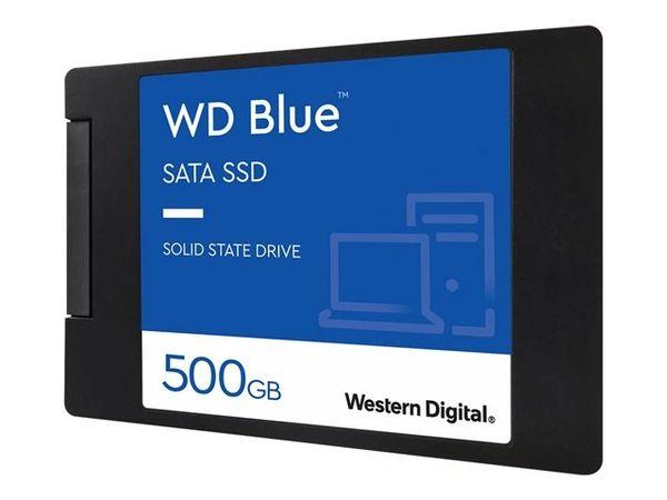 WD Blue 3D NAND SATA SSD WDS500G2B0A - Solid state drive - 500 GB