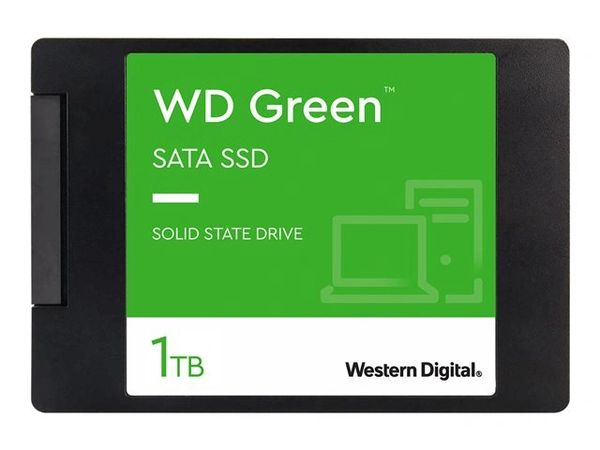 WD Green SSD WDS100T2G0A - Solid state drive - 1 TB