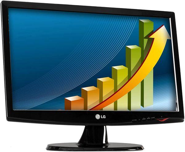 """LG 20MK400A-B - LED-backlit LCD monitor - 19.5"""""""