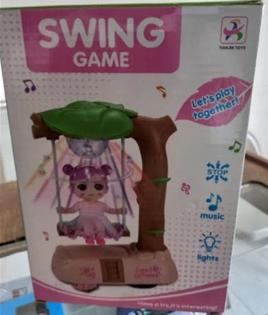 Swing Game - Sparkling lights