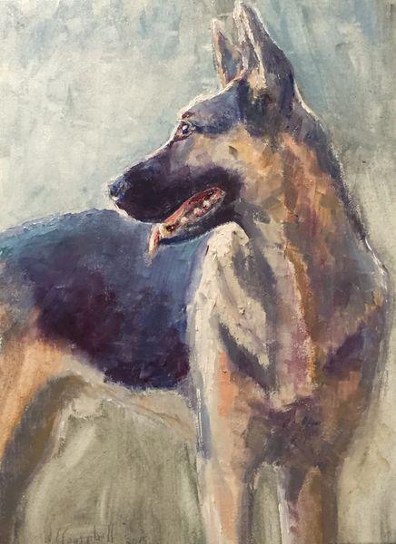 Oil Paintings by Wayne E Campbell (Duke)