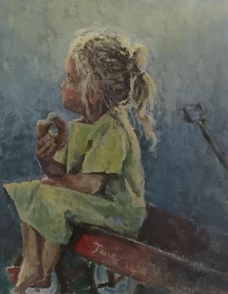 Giclee Print of SugaredUp from Oil Paintings by Wayne E Campbell