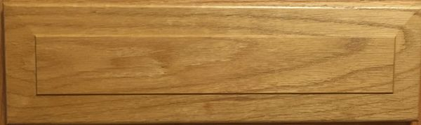 "Oak Base Cabinet Drawer Fronts 4.5"" tall x ?"", Solid oak"