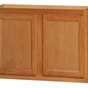 Chadwood Oak wall cabinet 27w x 12d x 36h (Local Pickup Only)