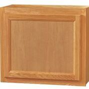 Chadwood Oak wall cabinet 24w x 12d x 21h
