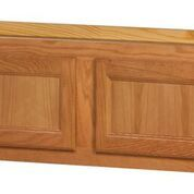 Chadwood Oak wall cabinet 33w x 12d x 15h Local pick up only.