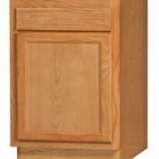 Chadwood Oak Base cabinet 18w x 24d x 34.5h (Local Pickup Only)