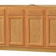 Chadwood Oak Sink Base cabinet 60w x 24d x 34.5h (Local Pickup Only)