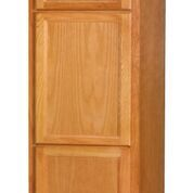 "Chadwood Oak Broom cabinet 18""w x 24""d x 84""h (Local Pickup Only)"