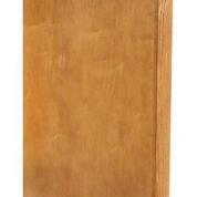 """Chadwood Oak Base end panel faced 3"""" w x 23.5"""" d x 34.5""""h or dish washer end panel"""