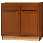 Glenwood Base Peninsula cabinet 48w x 24d x 34.5h (Local Pickup Only)