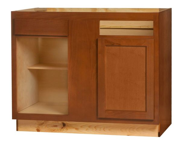 Glenwood Blind Base Corner cabinet sets 42w x 24d x 34.5h (Local Pickup Only)