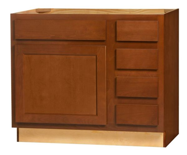 """Glenwood Vanity Base cabinet 36""""w x 21""""d x 30.5""""h (Local Pickup Only)"""