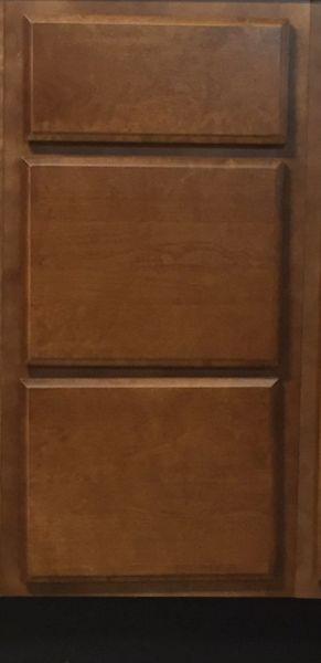 Bristol Brown Drawer Base Cabinet 15w x 24d x 34.5h (Local Pickup Only)