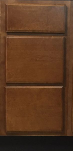 Bristol Brown Drawer Base Cabinet 18w x 24d x 34.5h (Local Pickup Only)