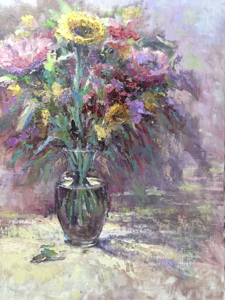 Oil Paintings by Wayne E Campbell (Floral)