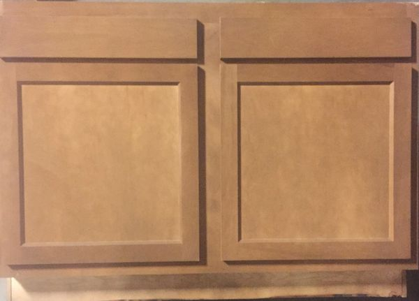 Warmwood Base cabinet 36w x 24d x 34.5h (local pickup only).