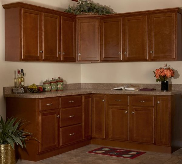 Bristol Brown oven cabinet 33w x 24d x 84h (Local Pickup Only)