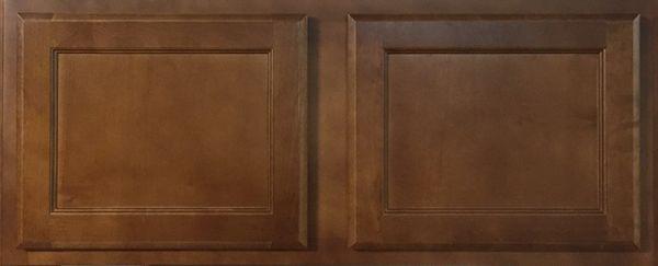 Bristol Brown 30w x 15h wall bridge cabinet