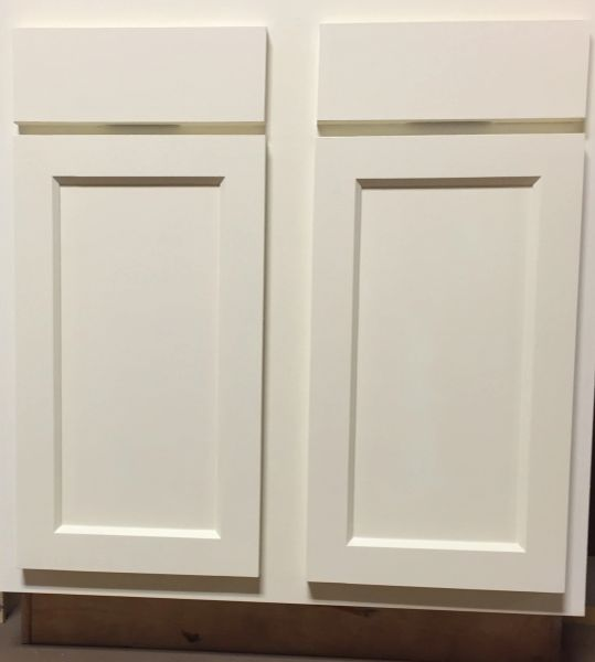 "D White Shaker Vanity Base cabinet 30""w x 21""d x 34.5""h Local pick up only."