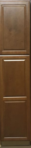Bristol Brown Wall Pantry 18w x 24d x 84h (Local Pickup Only) (local pickup only).