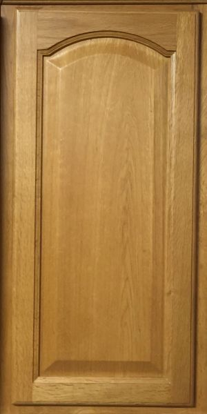 Light Oak wall cabinet 18w x 12d x 42h (local pickup only).
