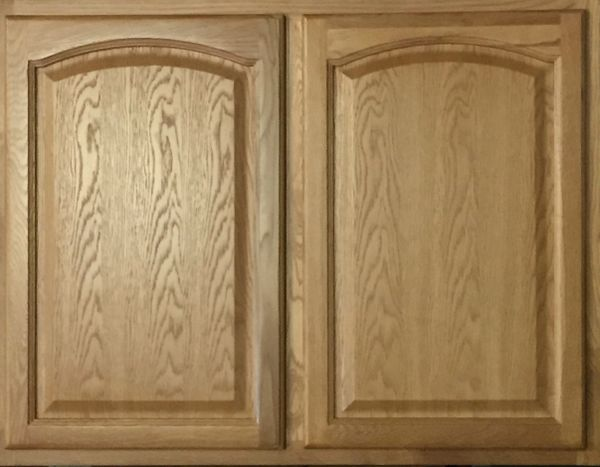 Light Oak wall cabinet 27w x 12d x 30h