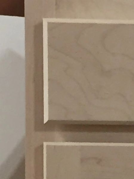 Unfinished Shaker 3 Drawer Base cabinet 18w x 24d x 34.5h (Local Pickup Only)
