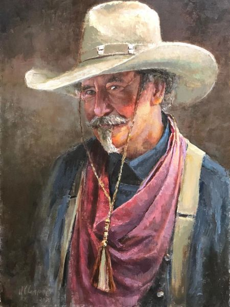 Giclee Print of (Kissing Bandit) from Oil Paintings by Wayne E Campbell