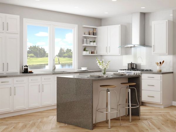 A D White kitchen, All New 19 foot, ( Free Design & Quote.) (local pickup only).