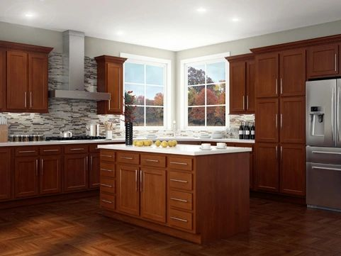 New but Repaired Scratch and Dent Kitchen Cabinets