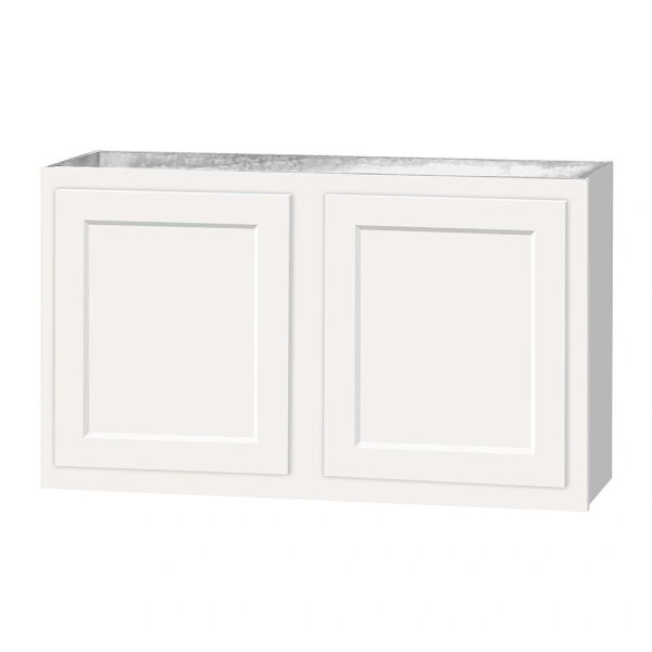 D White wall cabinet 36w x 12d x 21h (Local Pickup Only)