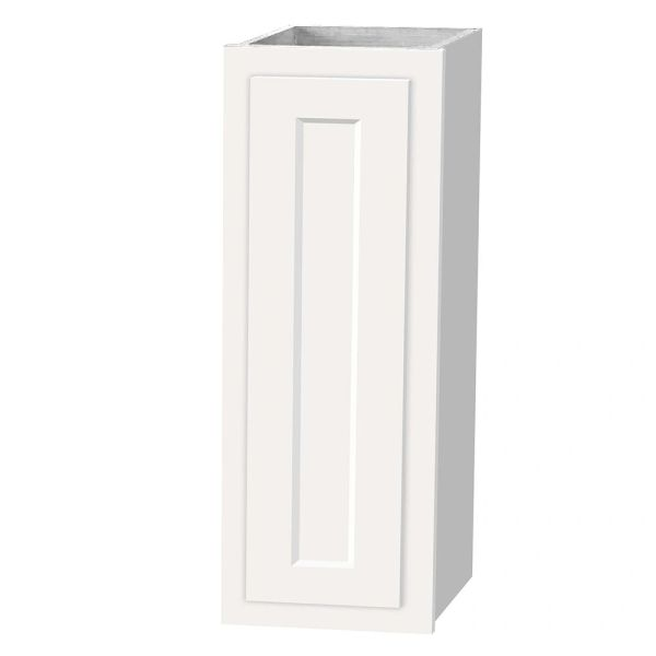 D White Shaker wall cabinet 09w x 12d x 36 (local pickup only).h