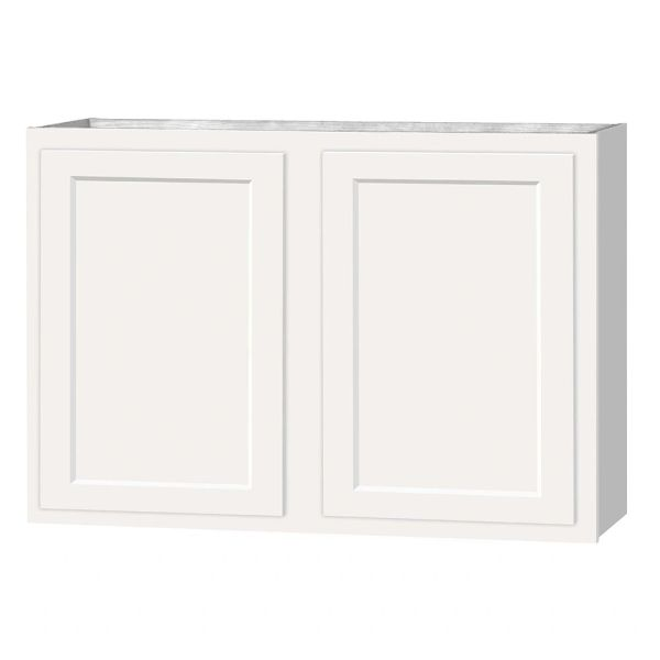 D White wall cabinet 48w x 12d x 30h (Local Pickup Only)