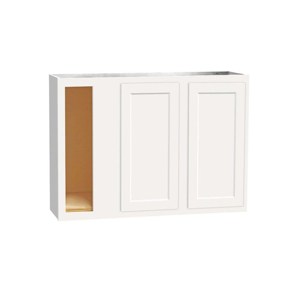 D White wall Corner cabinet 42w x 12d x 30h (Local Pickup Only)