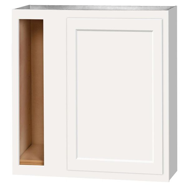 D White Shaker wall Corner cabinet 36w x 12d x 30h (Local Pickup Only)